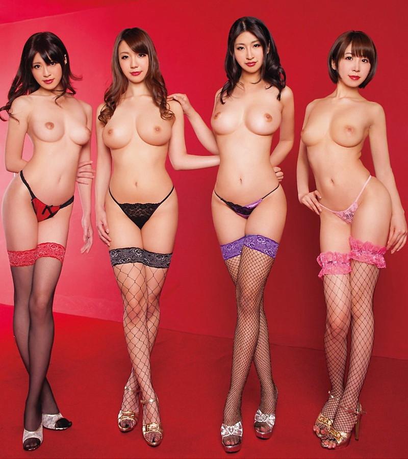 三次元 3次元 エロ画像 複数女性 ヌード べっぴん娘通信 06