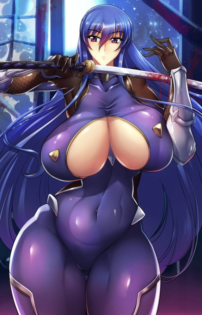 二次元 2次元 エロ画像 くノ一 女忍者 べっぴん娘通信 11