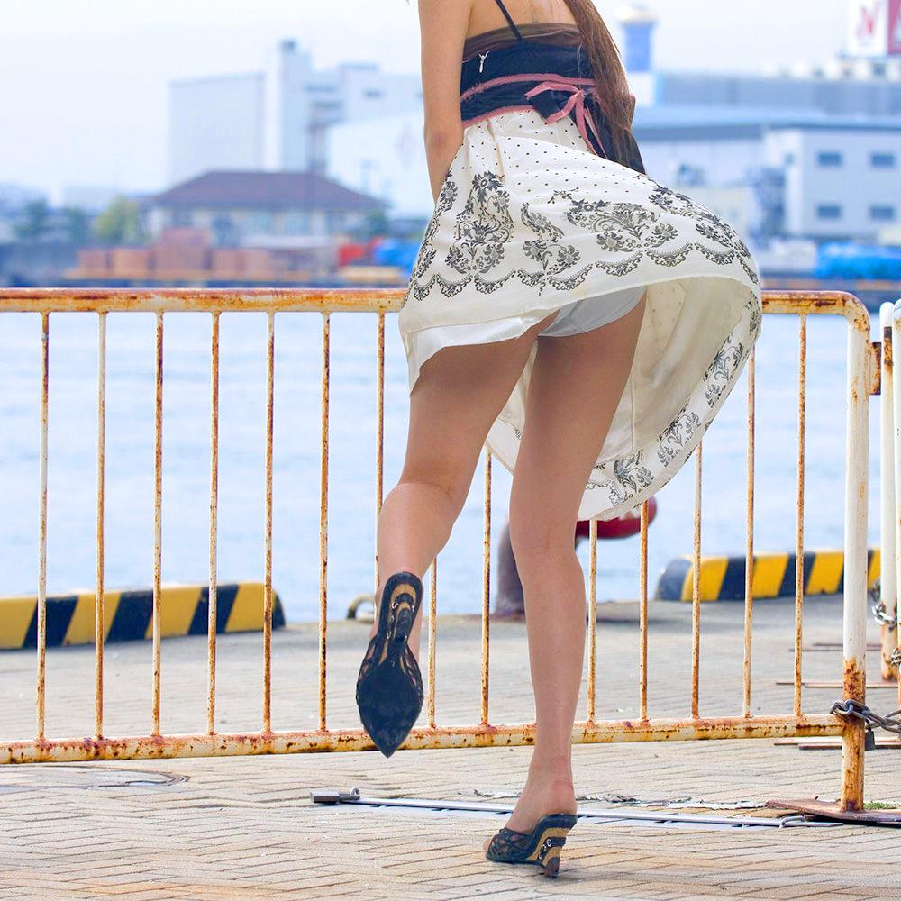 三次元 3次元 エロ画像 パンチラ 街撮り べっぴん娘通信 01