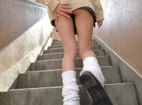 三次元 3次元 エロ画像 パンチラ 階段 べっぴん娘通信 01