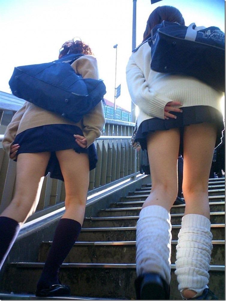 三次元 3次元 エロ画像 パンチラ 階段 べっぴん娘通信 04