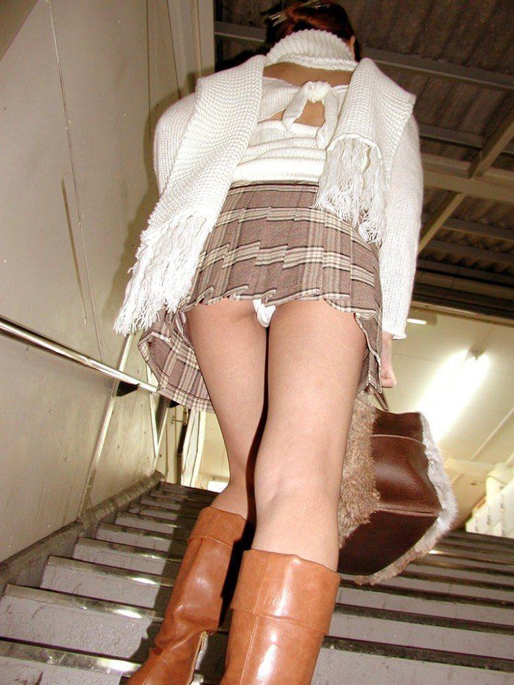 三次元 3次元 エロ画像 パンチラ 階段 べっぴん娘通信 25