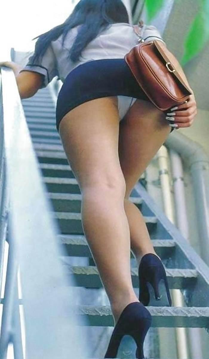 三次元 3次元 エロ画像 パンチラ 階段 べっぴん娘通信 34