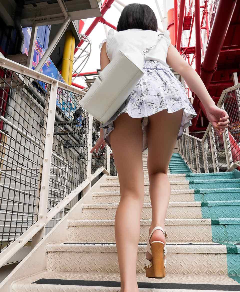 三次元 3次元 エロ画像 パンチラ 階段 べっぴん娘通信 36