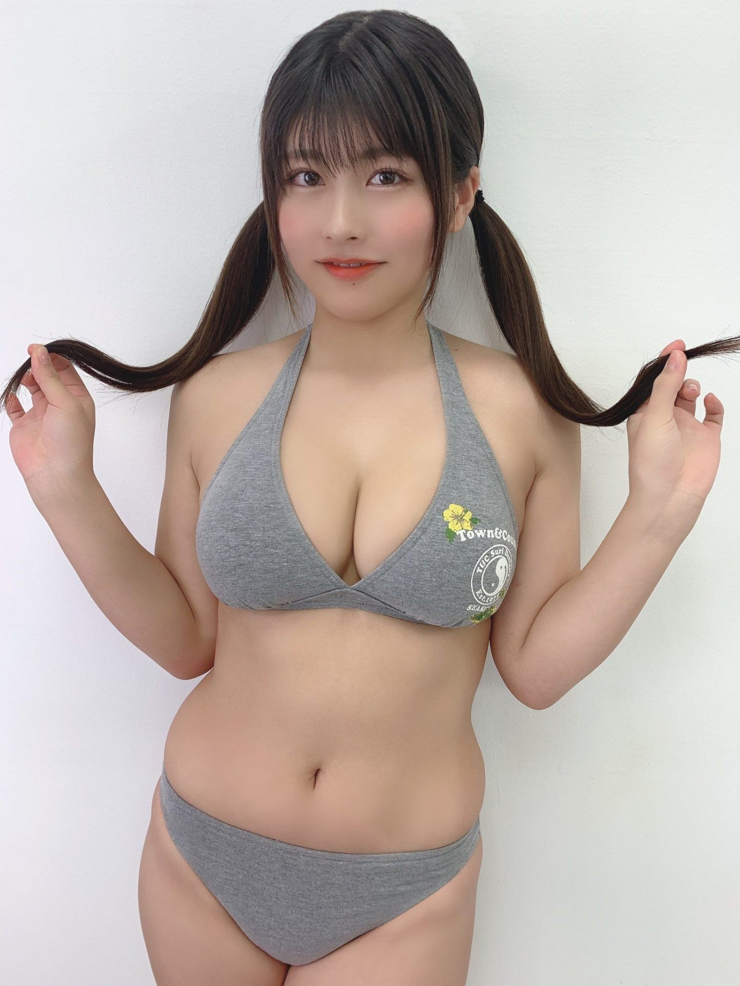 三次元 3次元 エロ画像 ツインテール ビキニ べっぴん娘通信 23