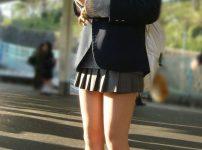 三次元 3次元 エロ画像 街撮り 女子校生 JK べっぴん娘通信 01