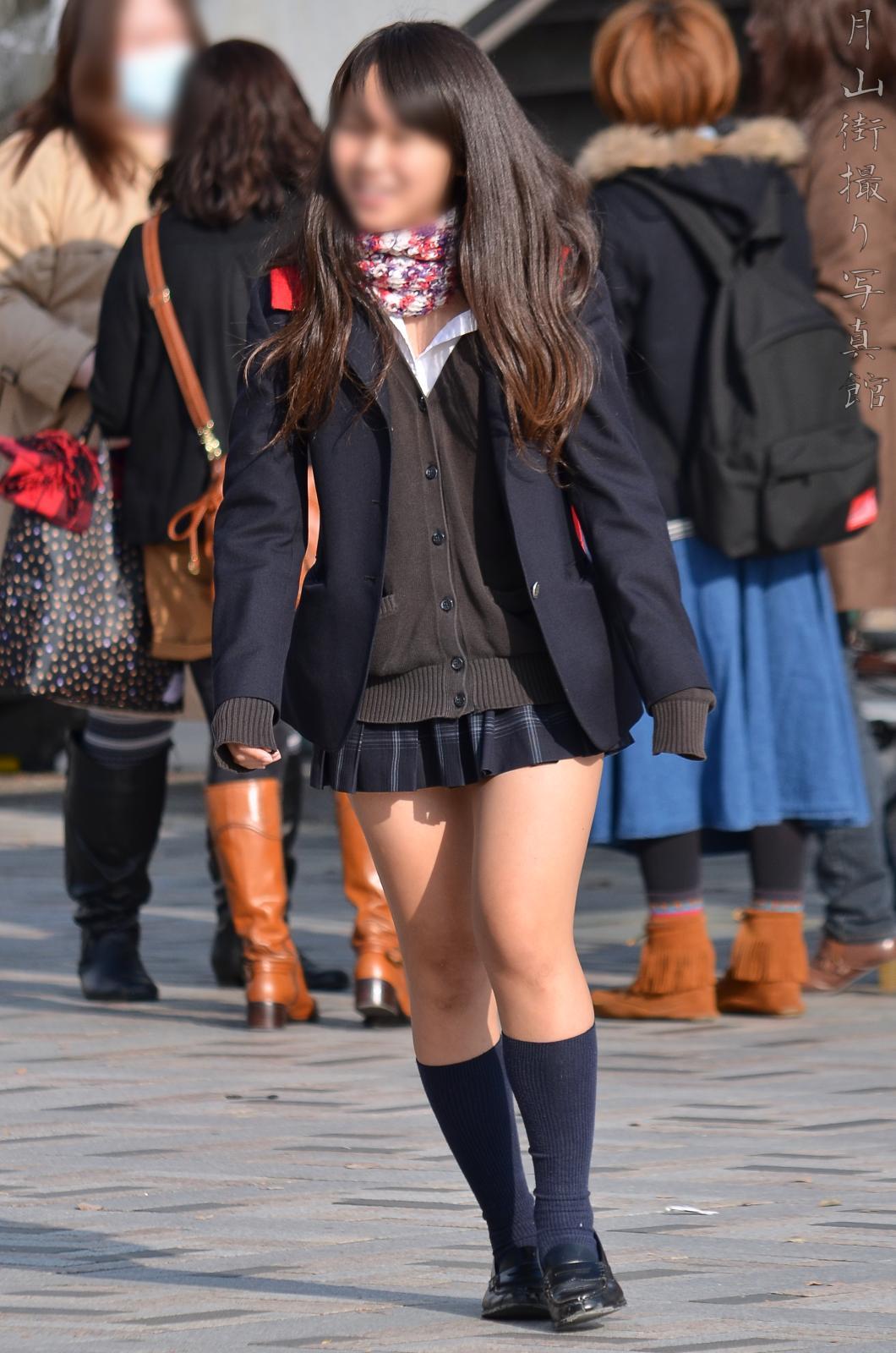 三次元 3次元 エロ画像 街撮り 女子校生 JK べっぴん娘通信 02