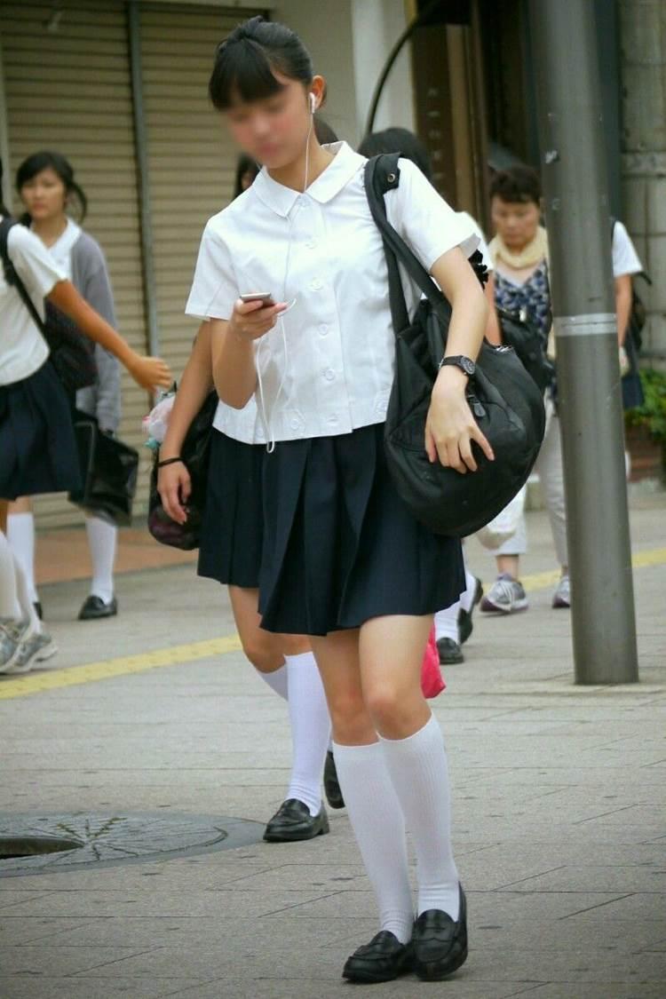 三次元 3次元 エロ画像 街撮り 女子校生 JK べっぴん娘通信 09