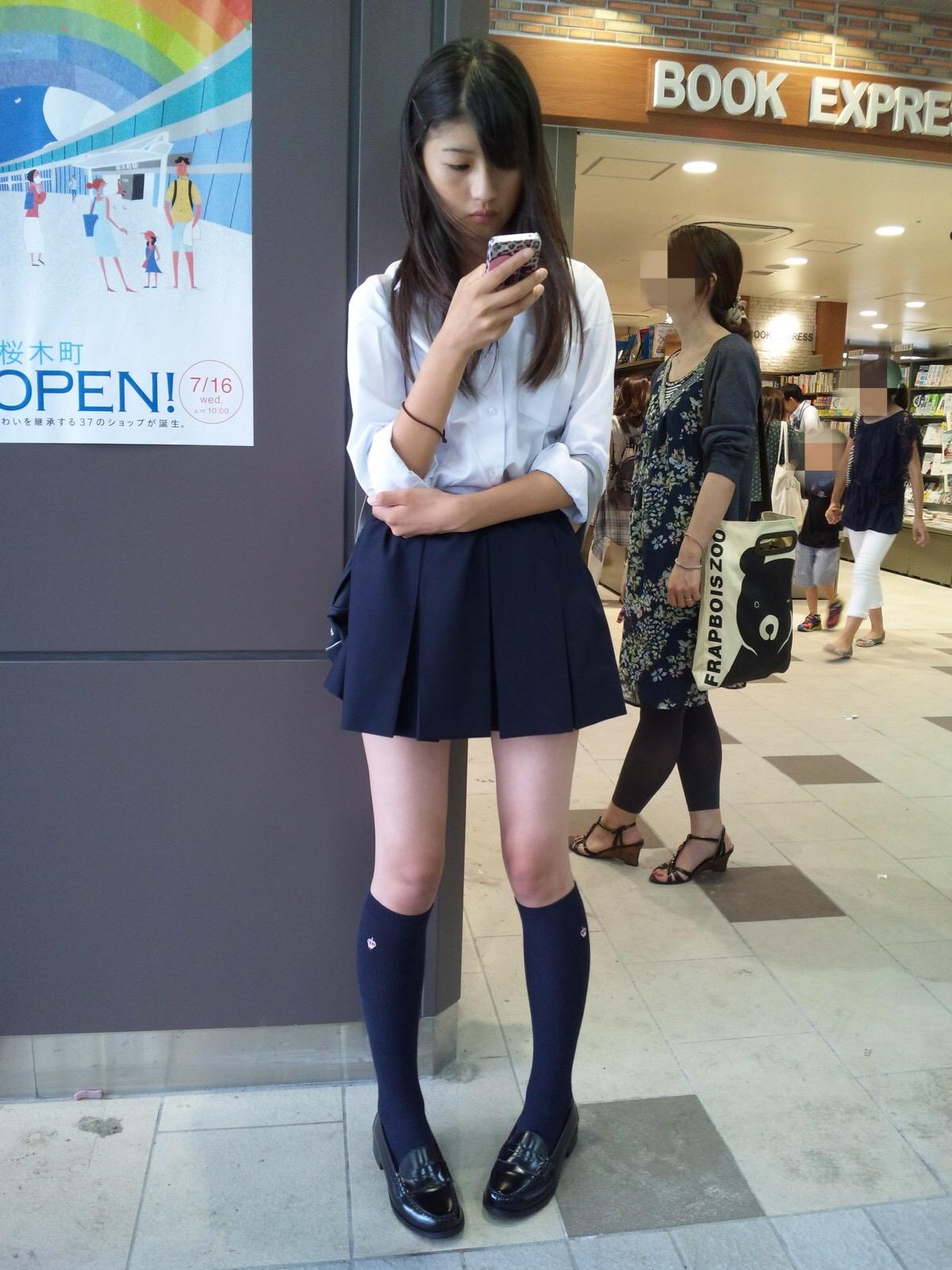 三次元 3次元 エロ画像 街撮り 女子校生 JK べっぴん娘通信 39
