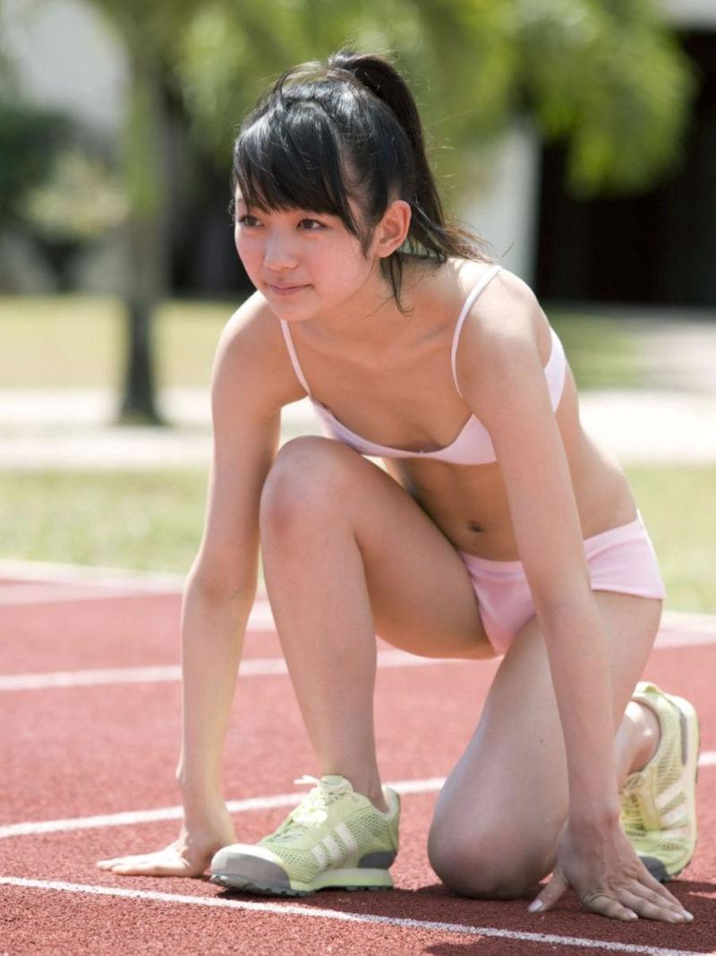 三次元 3次元 エロ画像 スポーツブラ スポブラ べっぴん娘通信 21