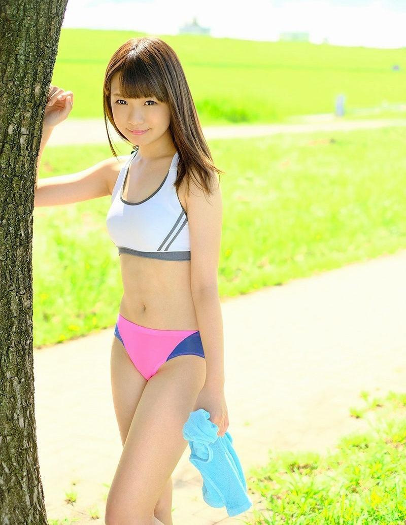 三次元 3次元 エロ画像 スポーツブラ スポブラ べっぴん娘通信 23