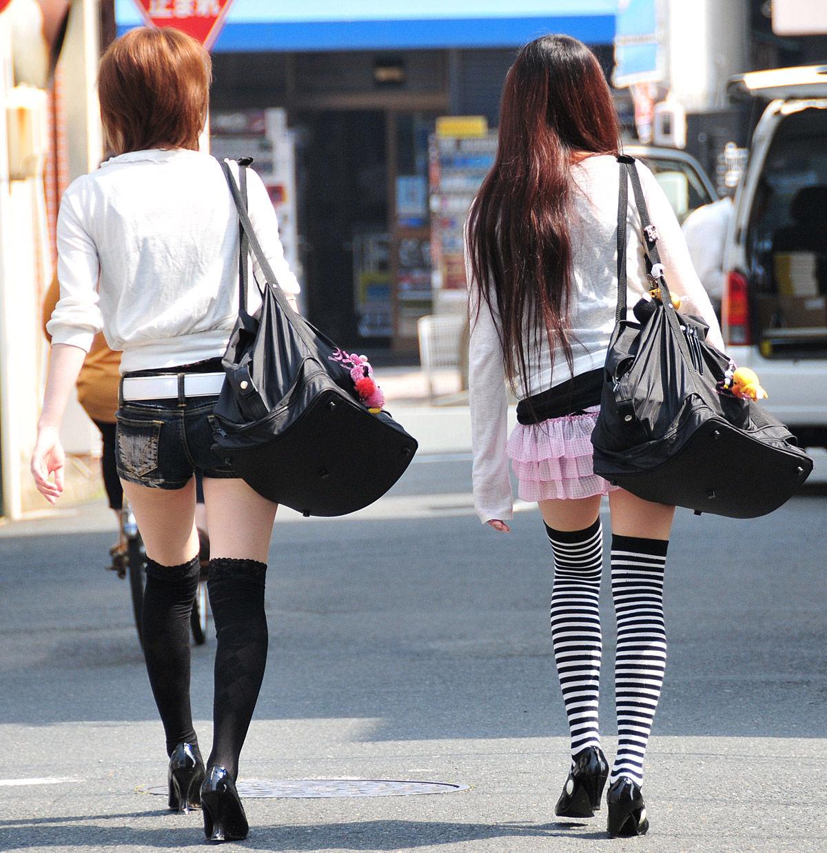 三次元 3次元 エロ画像 街撮り ニーソックス べっぴん娘通信 05
