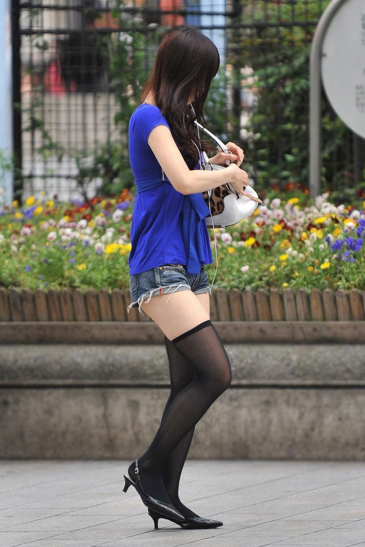三次元 3次元 エロ画像 街撮り ニーソックス べっぴん娘通信 06
