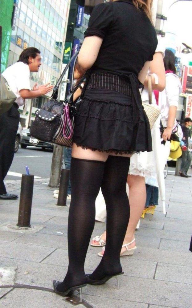 三次元 3次元 エロ画像 街撮り ニーソックス べっぴん娘通信 11
