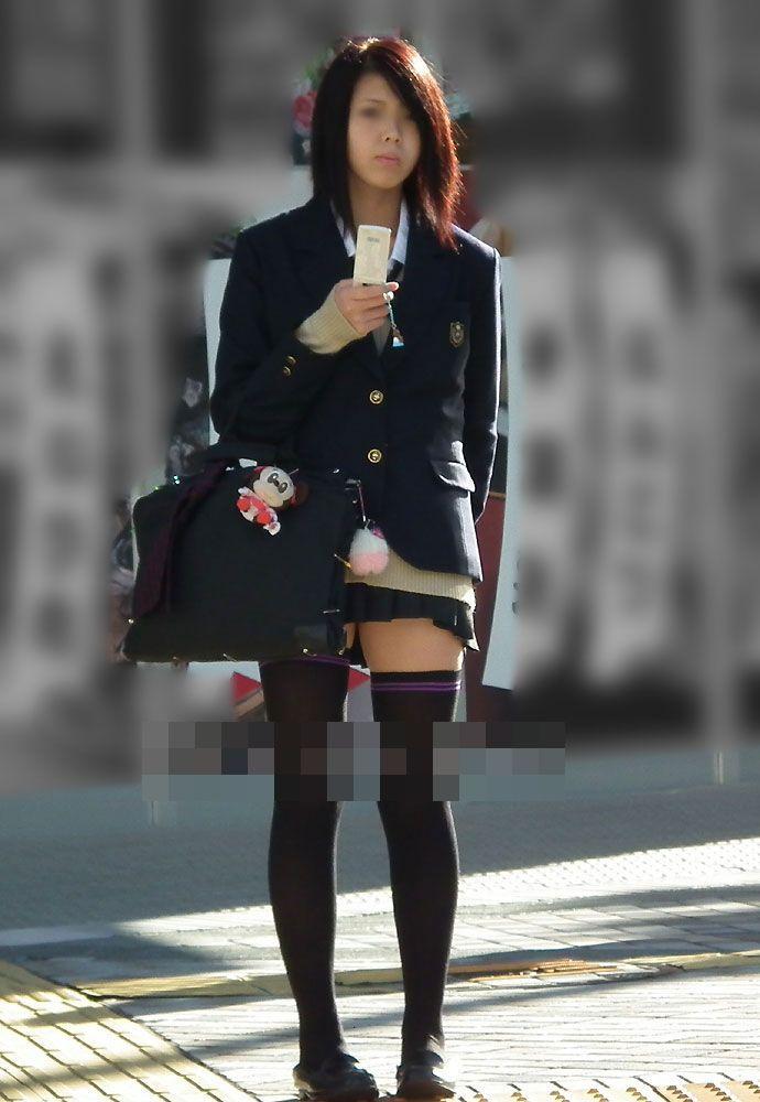 三次元 3次元 エロ画像 街撮り ニーソックス べっぴん娘通信 13
