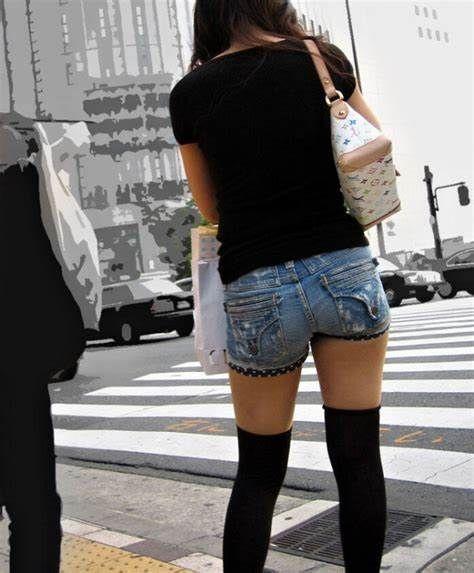 三次元 3次元 エロ画像 街撮り ニーソックス べっぴん娘通信 27
