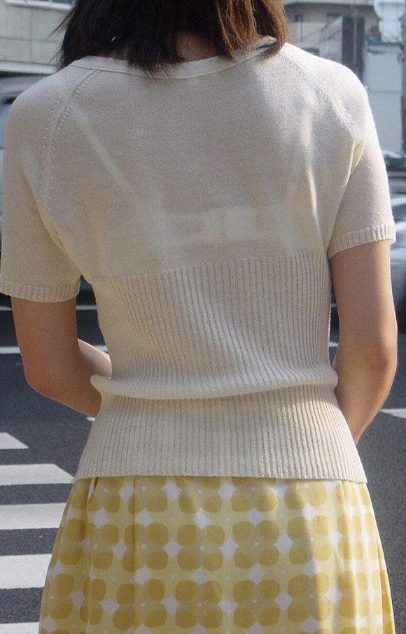 三次元 3次元 エロ画像 街撮り 透けブラ べっぴん娘通信 01