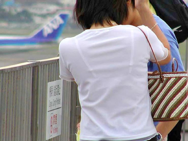 三次元 3次元 エロ画像 街撮り 透けブラ べっぴん娘通信 08