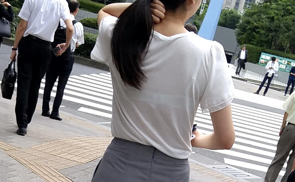 三次元 3次元 エロ画像 街撮り 透けブラ べっぴん娘通信 10