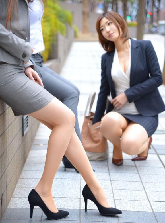 三次元 3次元 エロ画像  スーツ べっぴん娘通信 34