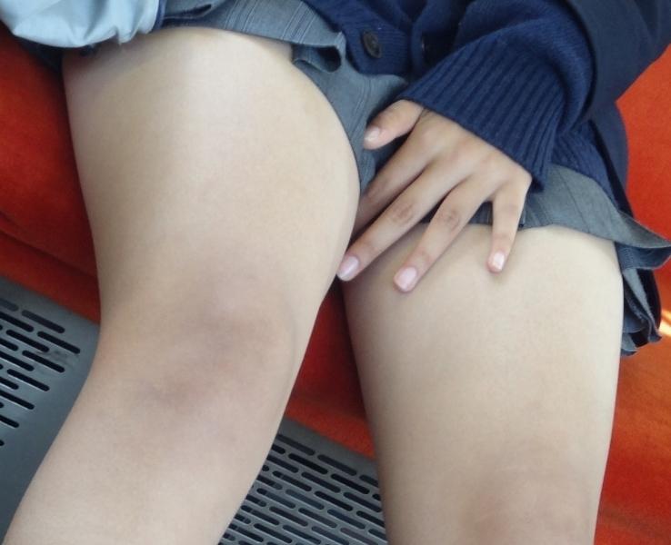 三次元 3次元 エロ画像 太腿 美脚 べっぴん娘通信 16