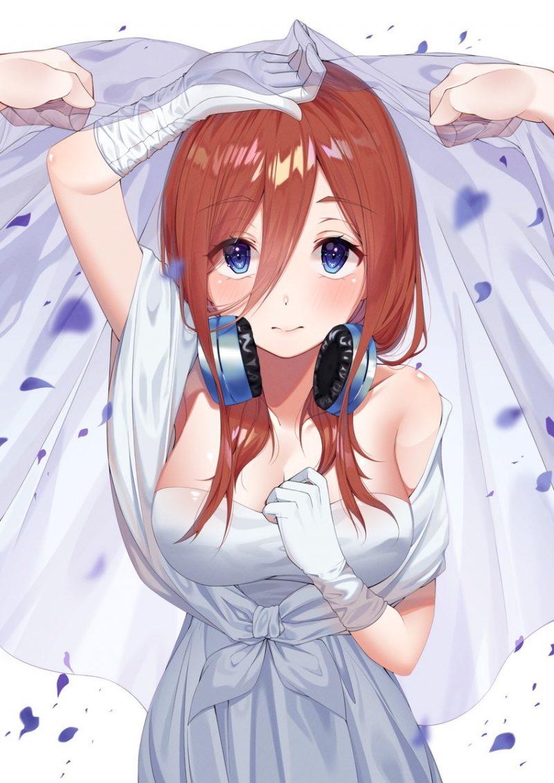 二次元 2次元 エロ画像 ウェディングドレス べっぴん娘通信 35