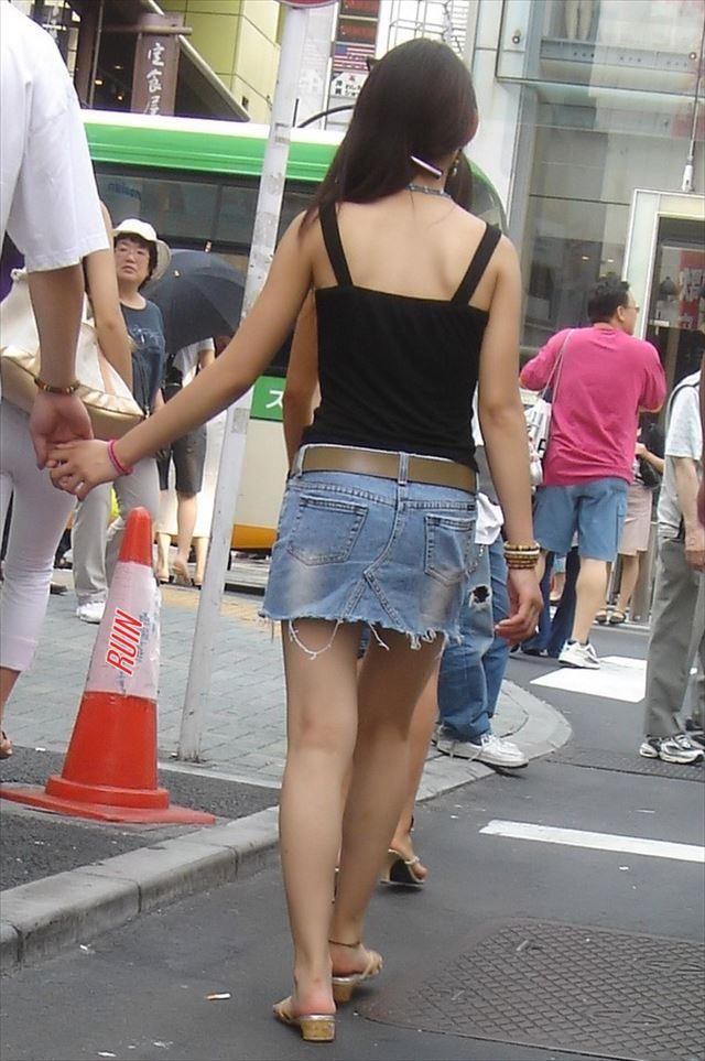 三次元 3次元 エロ画像 街撮り ミニスカ 素人 べっぴん娘通信 09