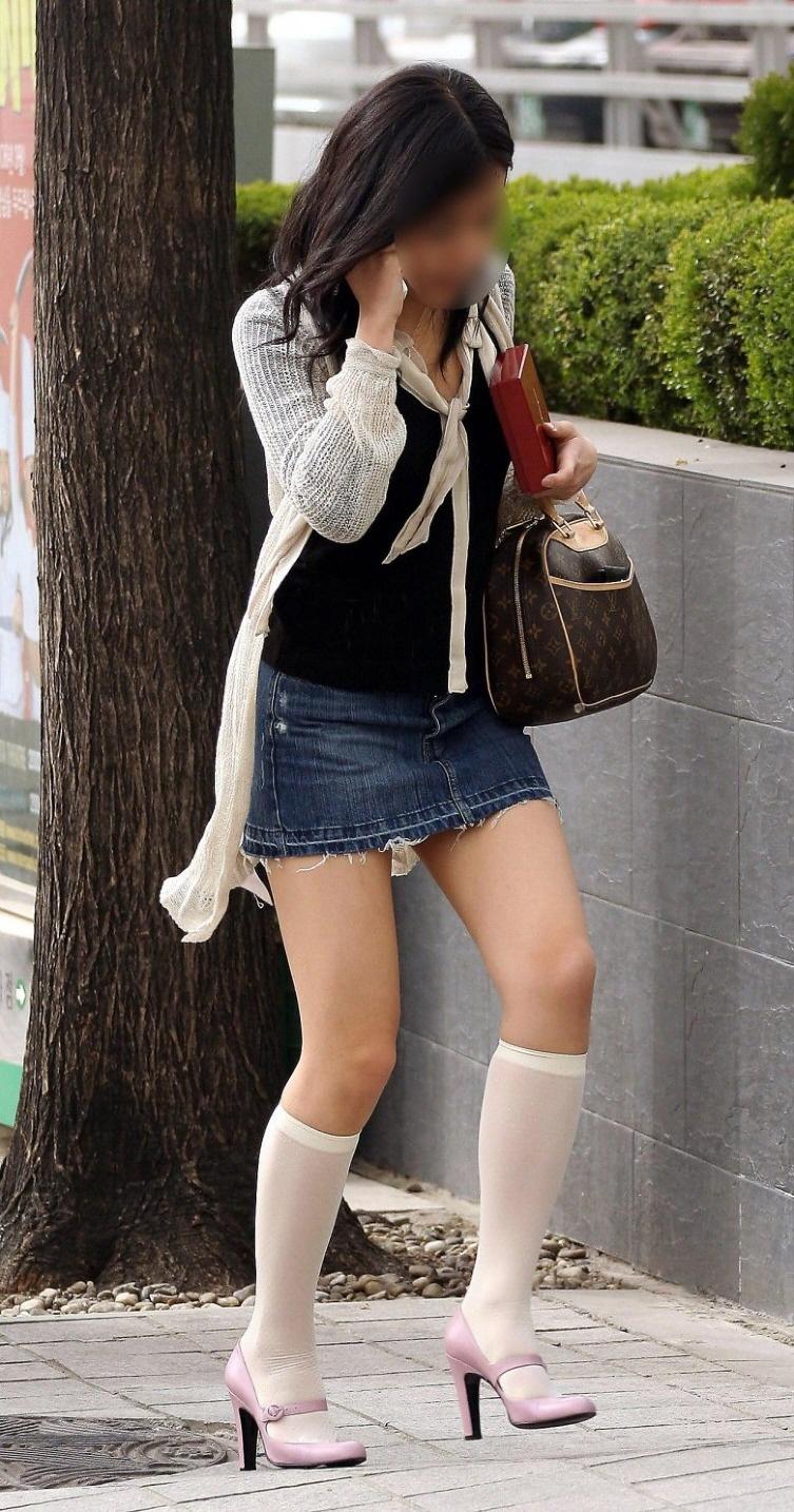 三次元 3次元 エロ画像 街撮り ミニスカ 素人 べっぴん娘通信 18