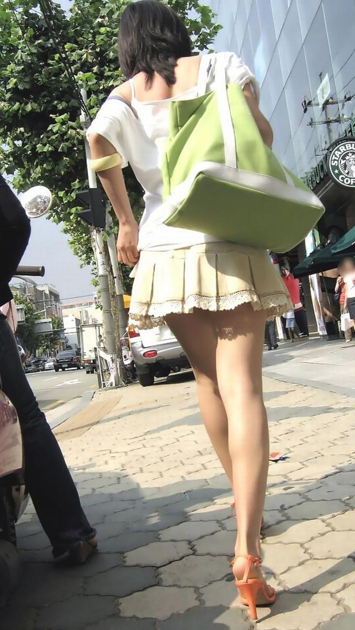 三次元 3次元 エロ画像 街撮り ミニスカ 素人 べっぴん娘通信 24