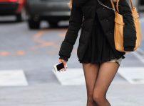 三次元 3次元 エロ画像 黒パンスト 街撮り 素人 美脚  べっぴん娘通信 01