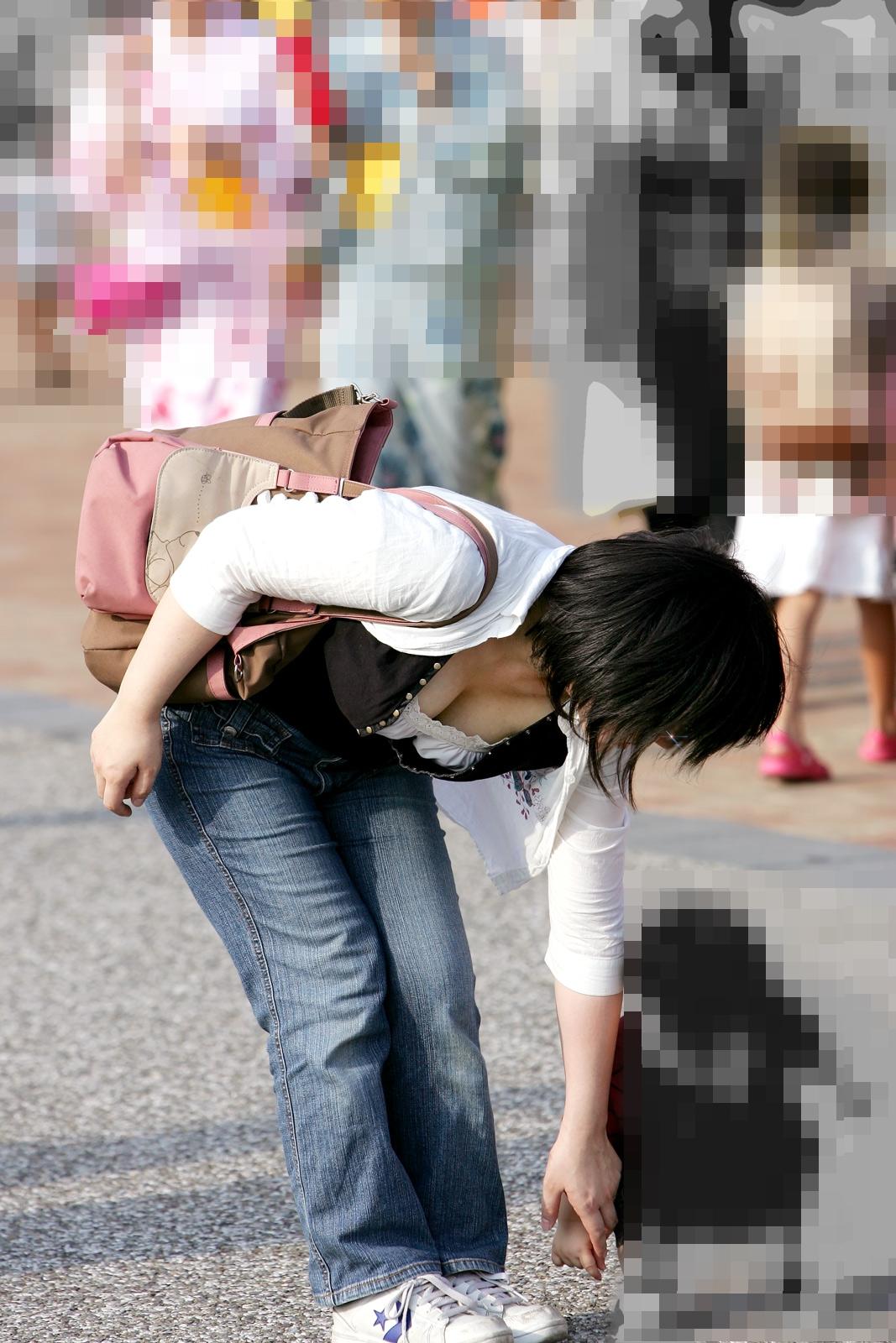三次元 3次元 エロ画像 谷間 街撮り 素人 べっぴん娘通信 07