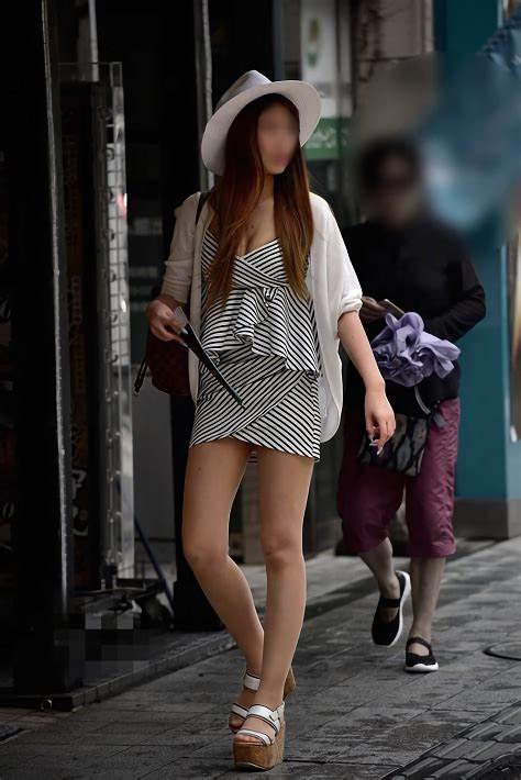 三次元 3次元 エロ画像 谷間 街撮り 素人 べっぴん娘通信 22