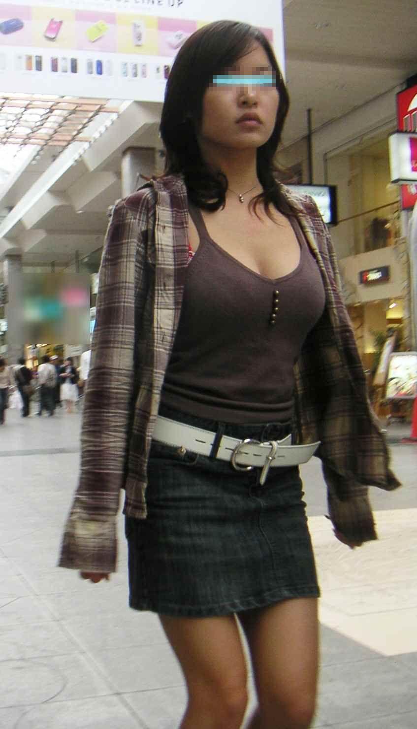 三次元 3次元 エロ画像 谷間 街撮り 素人 べっぴん娘通信 29