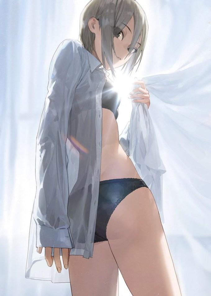 二次元 2次元 エロ画像 Yシャツ べっぴん娘通信 32