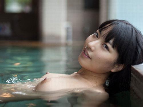 三次元 3次元 エロ画像 温泉 おっぱい ヌード べっぴん娘通信 22