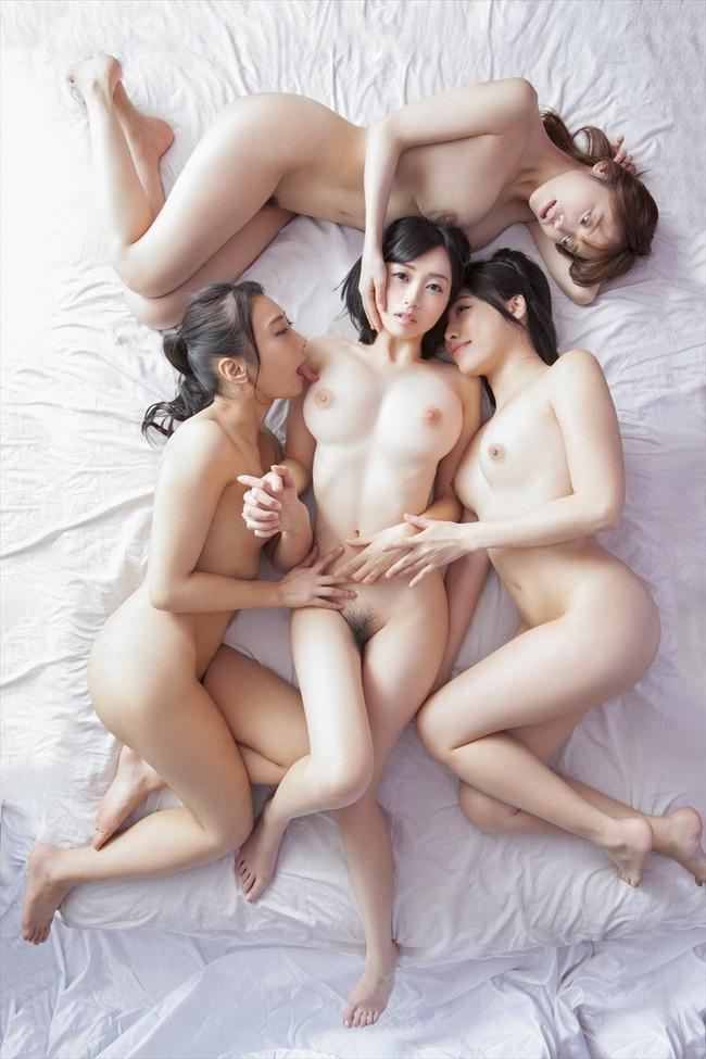 三次元 3次元 エロ画像 複数女性 ヌード おっぱい べっぴん娘通信 02