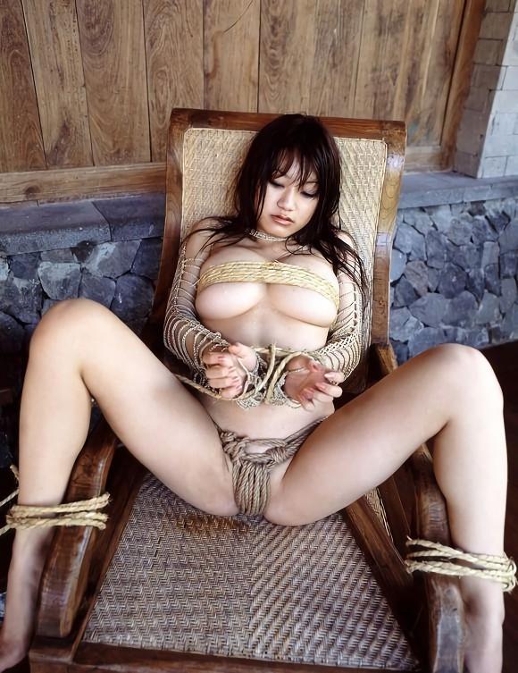 三次元 3次元 エロ画像  野外 露出 羞恥 緊縛 拘束 べっぴん娘通信 06