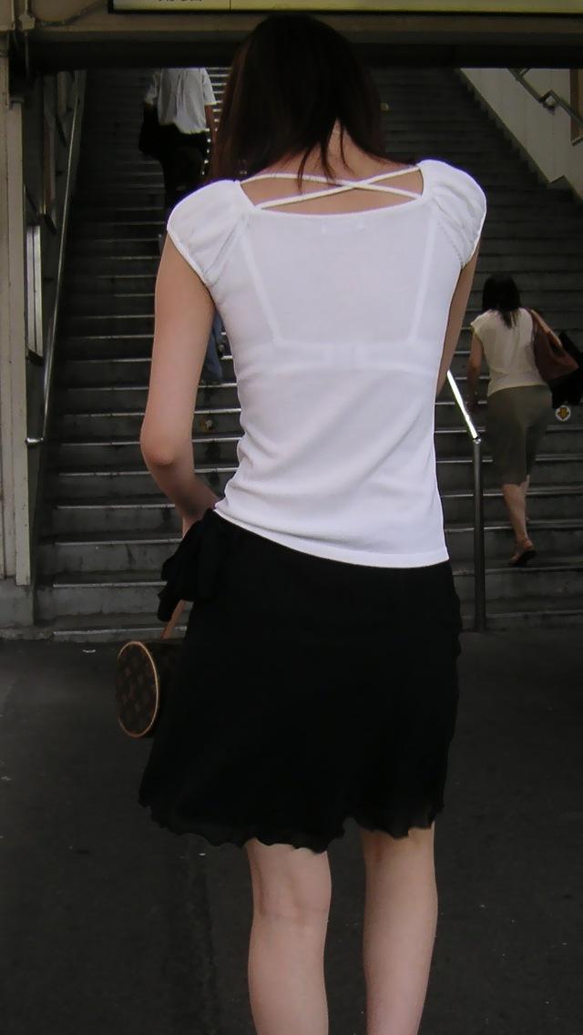 三次元 3次元 エロ画像 透けブラ 街撮り 素人 べっぴん娘通信 01