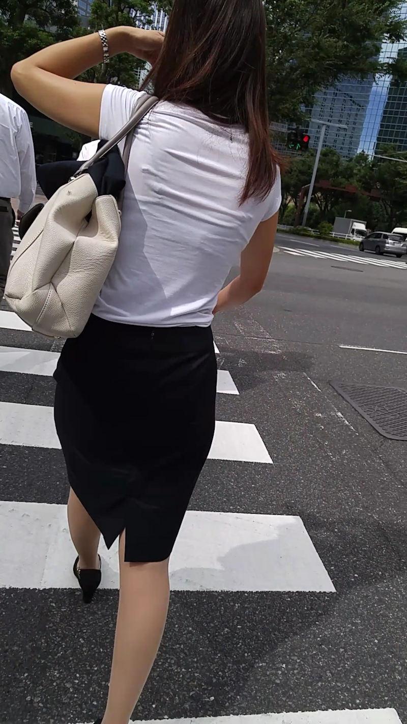 三次元 3次元 エロ画像 透けブラ 街撮り 素人 べっぴん娘通信 03