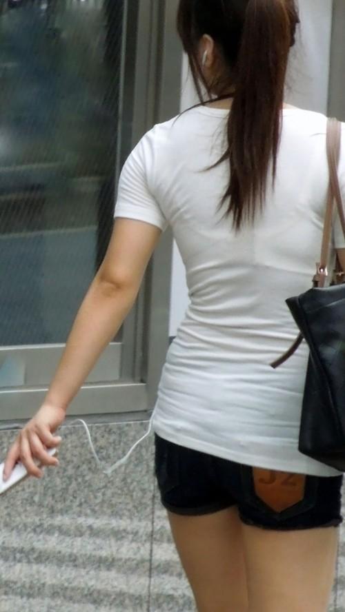 三次元 3次元 エロ画像 透けブラ 街撮り 素人 べっぴん娘通信 09