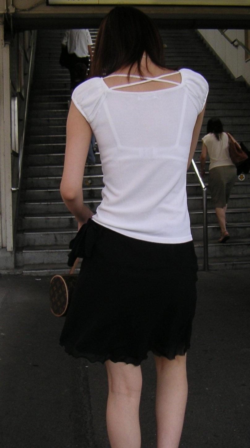 三次元 3次元 エロ画像 透けブラ 街撮り 素人 べっぴん娘通信 36