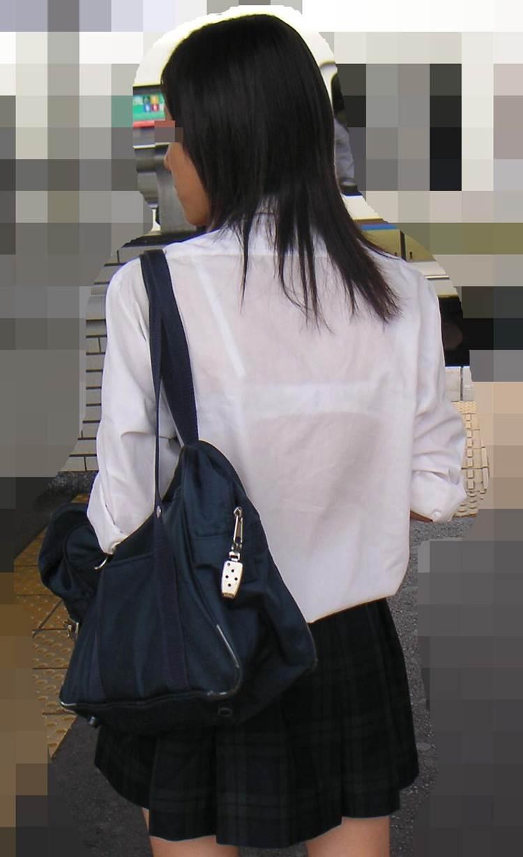 三次元 3次元 エロ画像 透けブラ 街撮り 素人 べっぴん娘通信 38