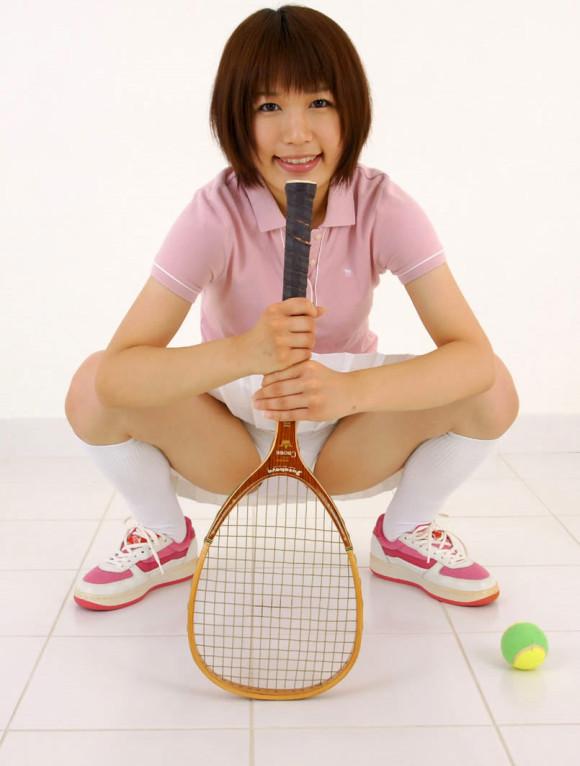 三次元 3次元 エロ画像 テニスウェア べっぴん娘通信 08