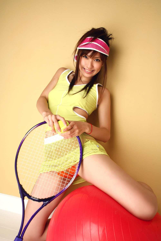 三次元 3次元 エロ画像 テニスウェア べっぴん娘通信 36