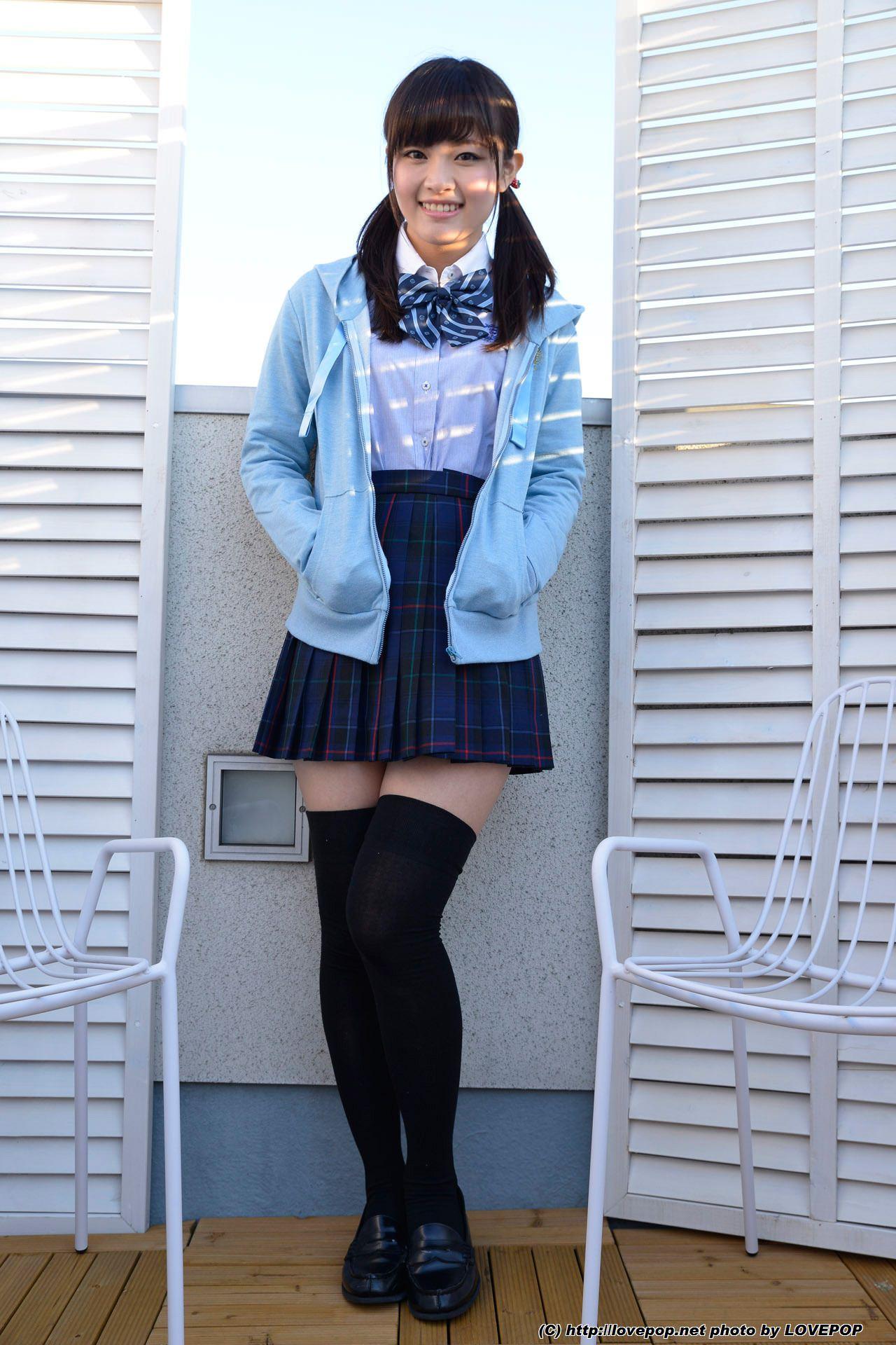 三次元 3次元 エロ画像 JK 女子校生 ニーソックス べっぴん娘通信 14