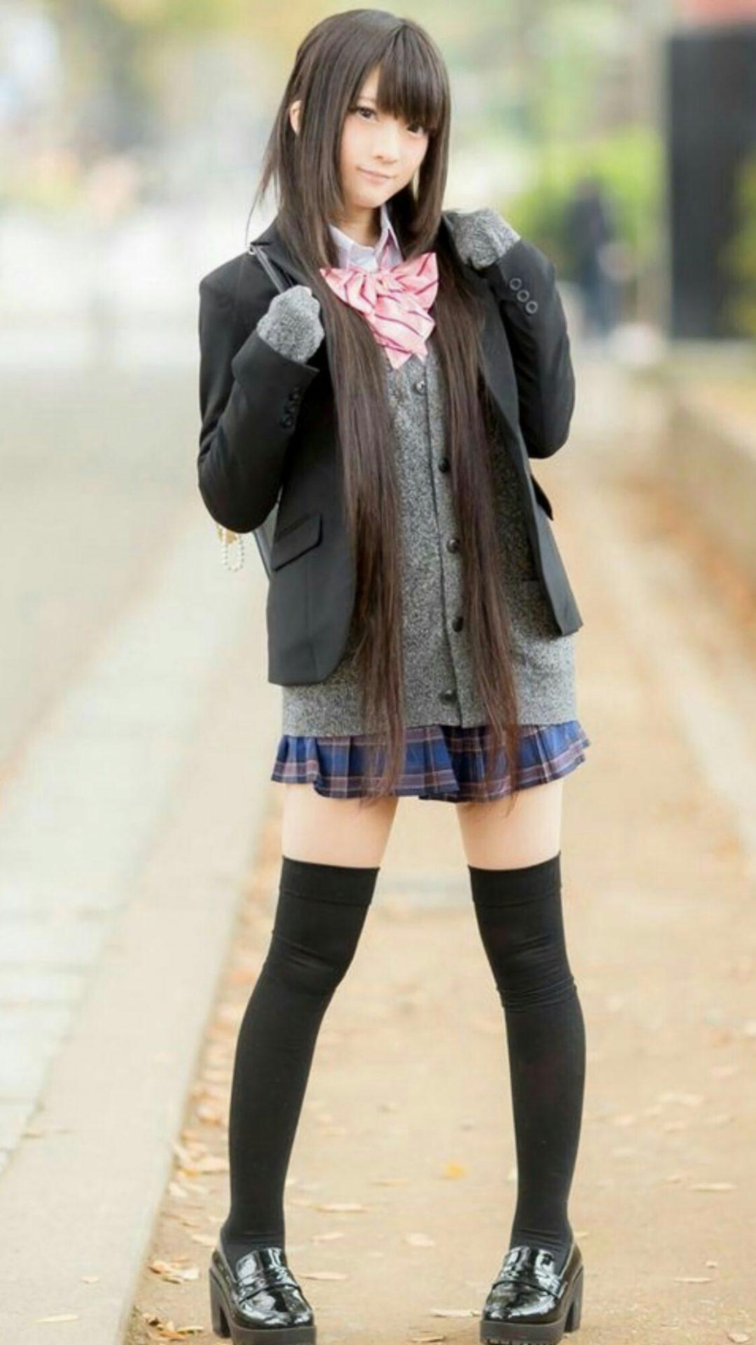 三次元 3次元 エロ画像 JK 女子校生 ニーソックス べっぴん娘通信 16