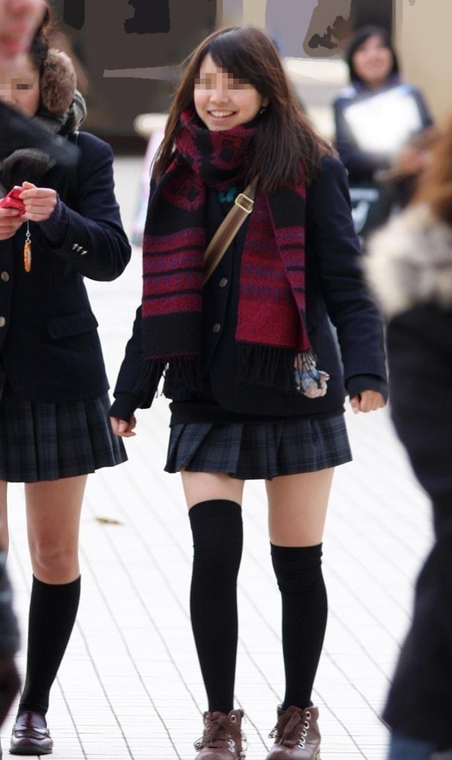 三次元 3次元 エロ画像 JK 女子校生 ニーソックス べっぴん娘通信 18