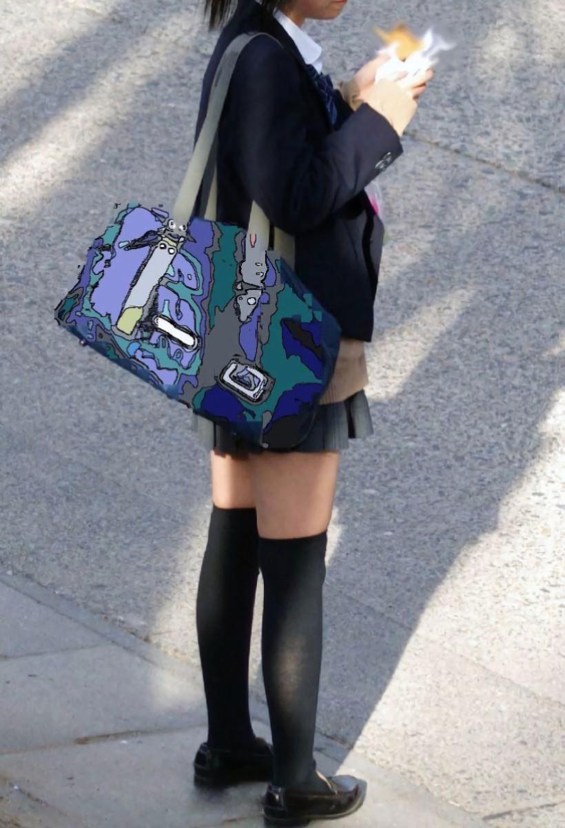 三次元 3次元 エロ画像 JK 女子校生 ニーソックス べっぴん娘通信 28