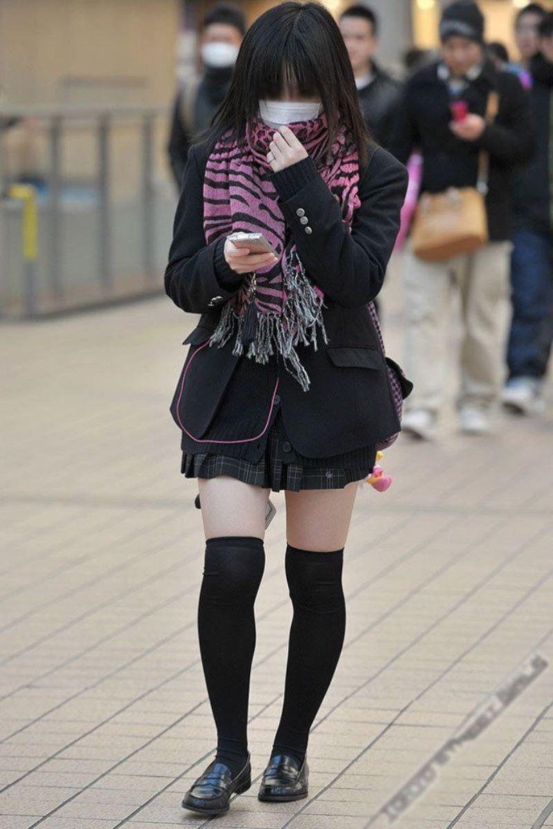 三次元 3次元 エロ画像 JK 女子校生 ニーソックス べっぴん娘通信 30