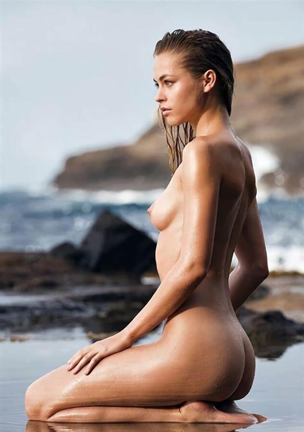 三次元 3次元 エロ画像 ビーチ ヌード 砂浜 海 べっぴん娘通信 31